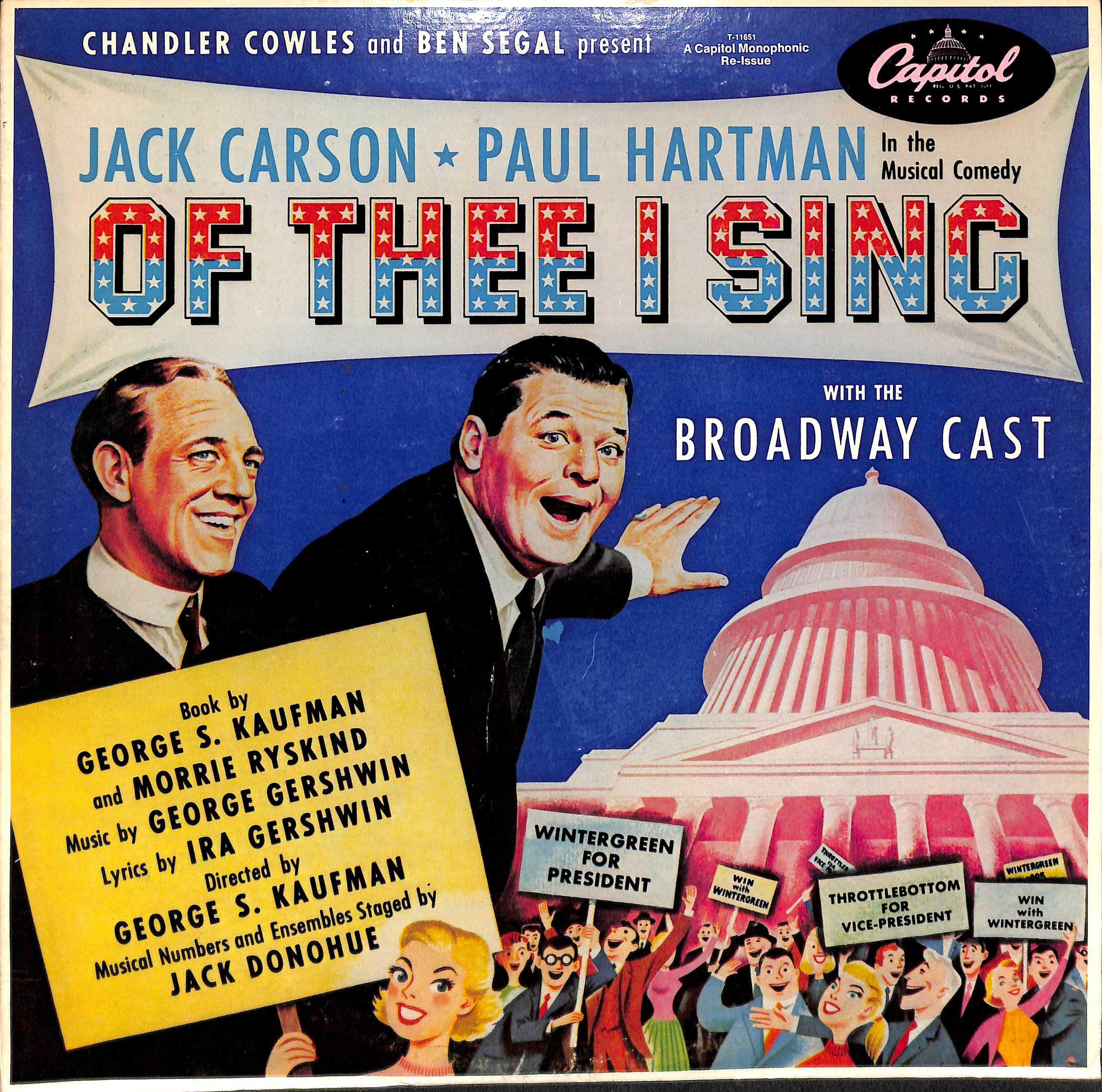 Of Thee I Sing Cast Album