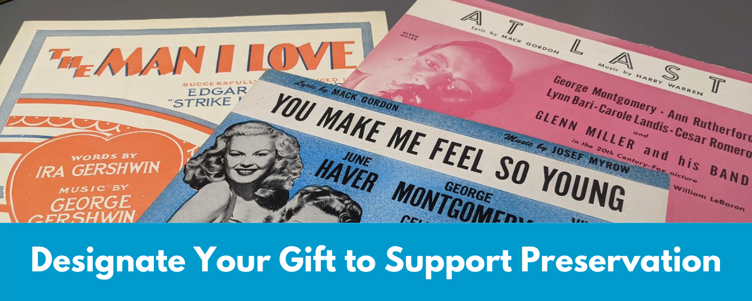 Designate Your Gift to Support Preservation